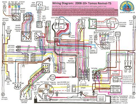 tomos wiring diagrams 171 myrons mopeds