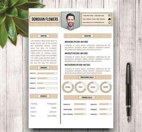 Unique Resume Templates by 17 Best Ideas About Unique Resume On Graphic