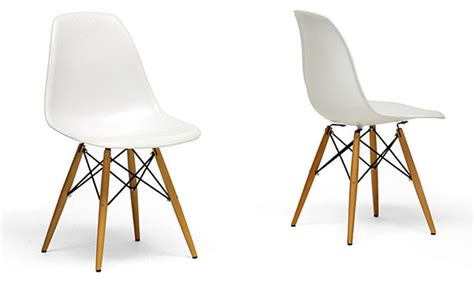 wood leg white accent chairs modern dining chairs by