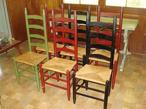 Painted Oak Dining Chairs by Heres Another Item To Be Valued A Set Of Six Shaker Style