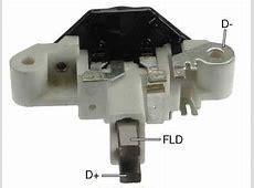 # IB385 359108 Voltage Regulator, Brush Holder