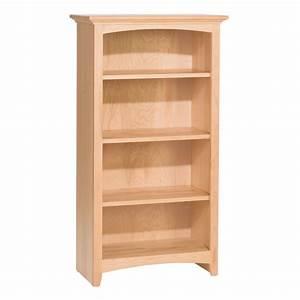 """Whittier Wood McKenzie Bookcase Collection - 24"""" Wide"""