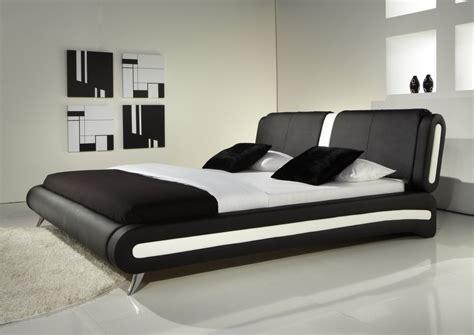 cheap modern black white detail faux leather designer