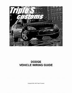 Dodge Vehicle Wiring Guide