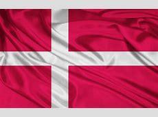 La bandera de Dinamarca fondos de pantalla La bandera de