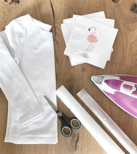 basteln mit frischhaltefolie easy diy anleitung flamingo b 252 gelbilder einfach selber