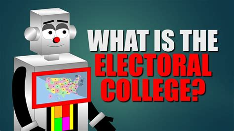 What Is The Electoral College For Kids (electoral College Educational Video) Youtube