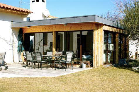 maison en bois herault extension ossature bois d une maison 224 montarnaud 34 par henri piguillem architecte la