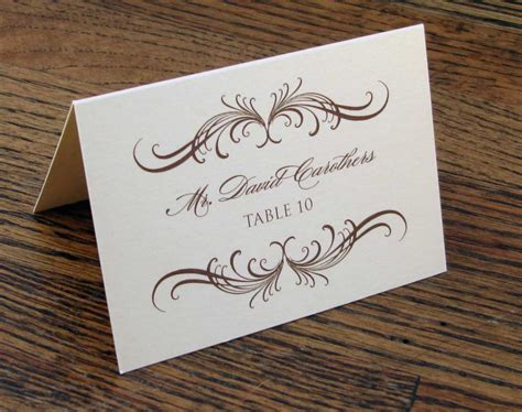 table number place cards wedding etiquette the ultimate guide gentleman 39 s gazette
