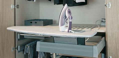 hafele ironfix pullout ironing board with mx drawer