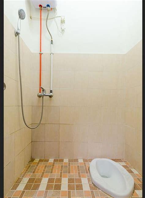 inilah desain kamar mandi sederhana  kloset jongkok terbaik ndik home