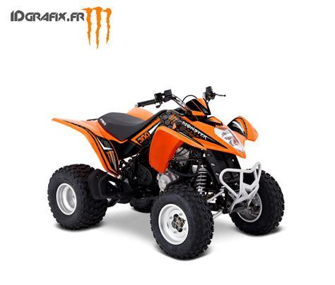 kit deco custom orange kymco 300 maxxer idgrafix