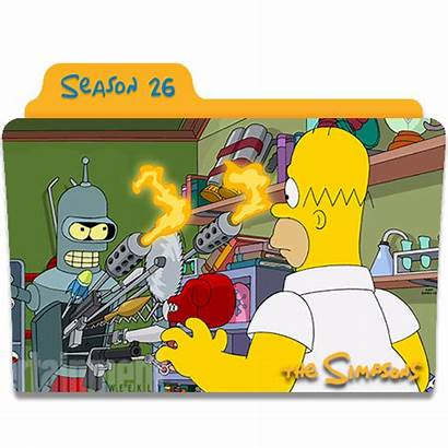 Icon Simpsons Season Icons Folder S26 Ico