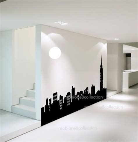 york city skyline silhouette sgd  ideas