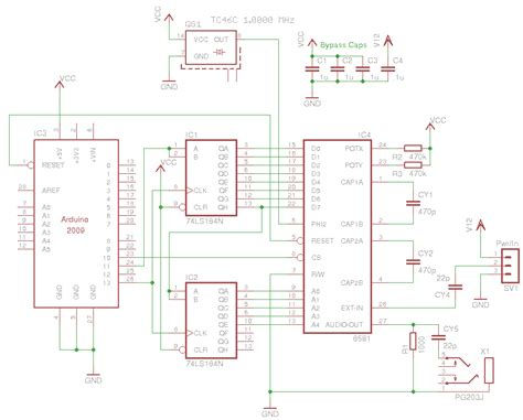 Signals Processed Arduino Sidshield Initial Schematic