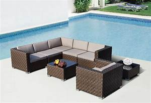 Modern outdoor furniture sets for patio