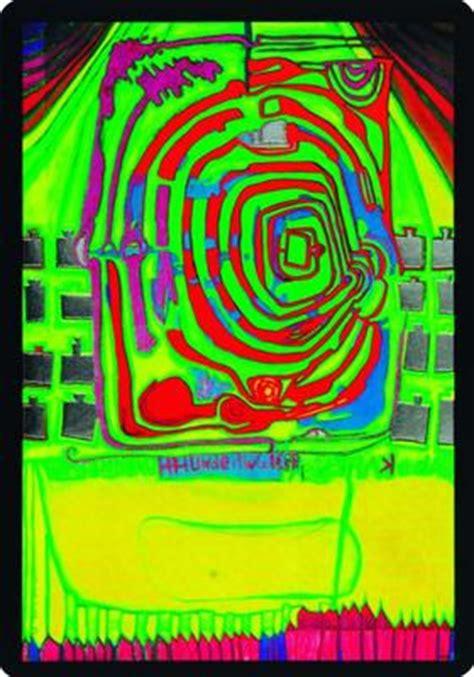 591 Grüne Spirale (10pk)  Friedensreich Hundertwasser