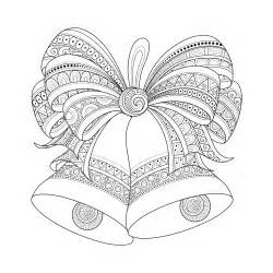 bells zentangle style by irinarivoruchko coloring pages for adults