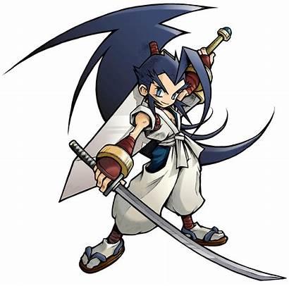 Musashi Fencer Brave Samurai Sengoku Character Square