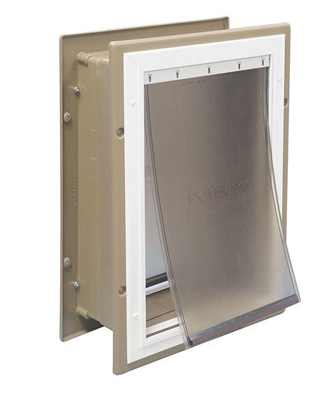 doors for walls exterior wall entry aluminum pet doors door