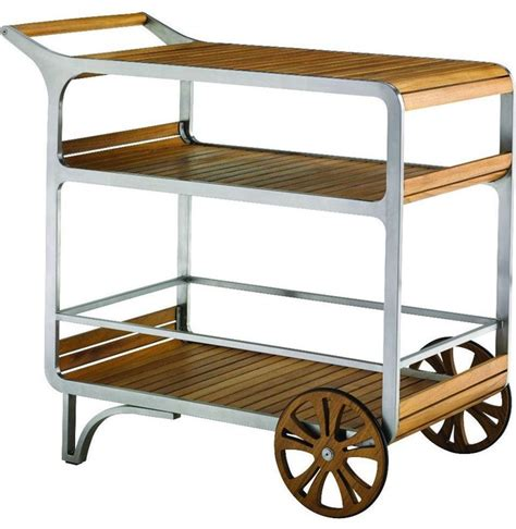bahama tres chic bar cart contemporary outdoor