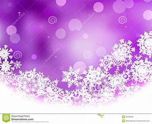 Fond Violet Avec Des Flocons De Neige ENV 8 Illustration de Vecteur Image: 26442069