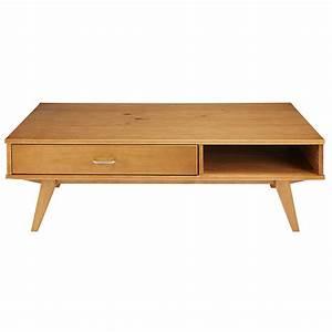 Table Basse Maison Du Monde : table basse 1 tiroir paulette maisons du monde ~ Teatrodelosmanantiales.com Idées de Décoration