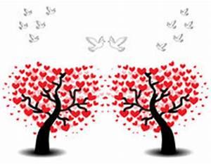 Baum Der Liebe : liebesbaum mit zwei v geln vektor abbildung bild 49953940 ~ Eleganceandgraceweddings.com Haus und Dekorationen