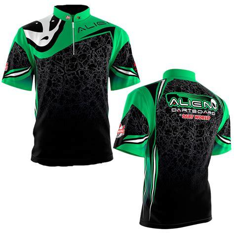 shirt green light dart shirt