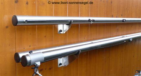 befestigung sonnensegel hauswand sonnenschutz lagerung lisori sonnensegel design