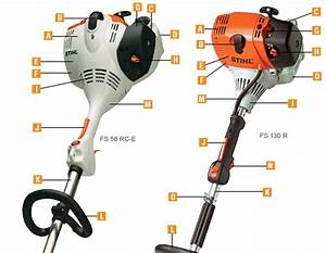 Stihl Trimmer And Brushcutter Common Features