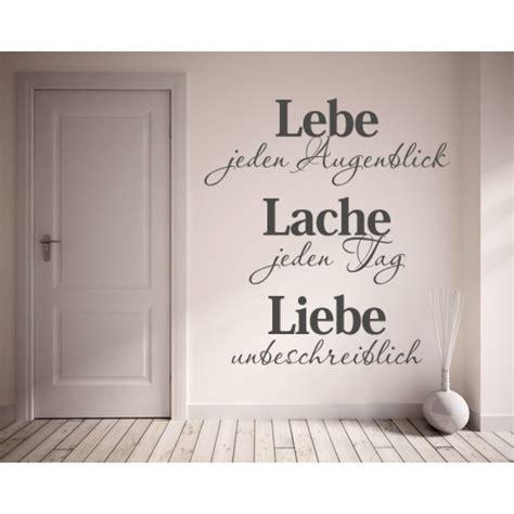 Wandtattoo Kinderzimmer Spruch by Wandtattoo Spruch Lebe Lache Liebe Wandtattoos Spr 252 Che Zitate
