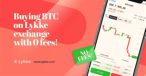 If you're patient and not in a rush to buy then use a bank transfer for lower fees. How to buy Bitcoin without fees? - Lykke - Medium