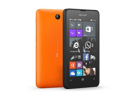 microsoft introduces lumia 430 in india the most affordable lumia smartphone microsoft news