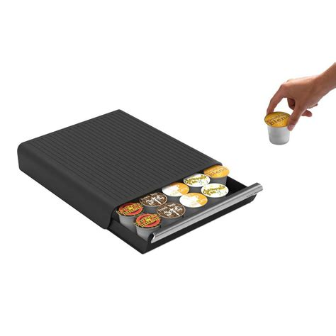Like most of what we eat, we like our coffee to be fresh. Coffee Pod Storage Drawer 30 K Cup Holder Pods Rack Keurig Organizer Kitchen #MindReader ...
