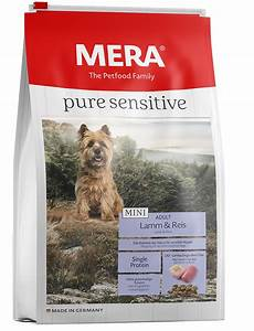 Hundefutter Mera Dog : mera pure sensitive mini lamm reis hundefutter f r ~ A.2002-acura-tl-radio.info Haus und Dekorationen