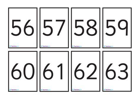 number cards    teachersgem teaching resources tes
