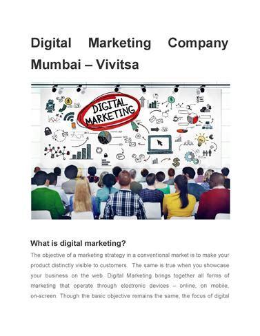 Digital Marketing Companies In Mumbai by Digital Marketing Company Mumbai Vivitsa Authorstream