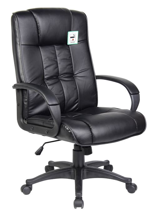 padded pu leather executive swivel office chair