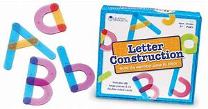 learning resources letter construction set babyonline With learning resources letter construction