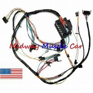 Dash Wiring Harness With Fuse Block 72 Chevy Nova