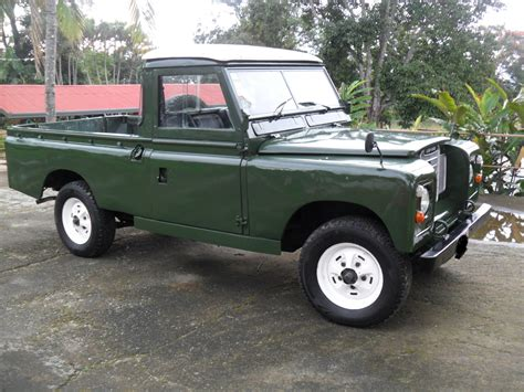 land rover pickup truck 1969 diesel 109 series ii land rover pick up truck land