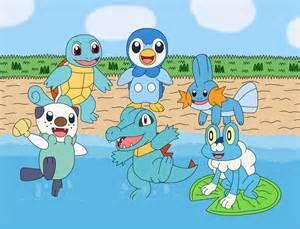 Pokemon Water-type Starters