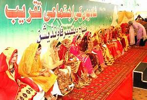 Mass marriage ceremony of 23 couples held under Minhaj ...