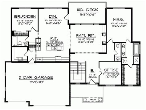 bungalow house plans with basement 598 best house plans images on house floor