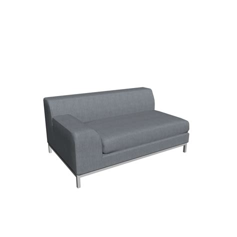 Ikea Sofa 2er by Kramfors 2er Sofa Left Design And Decorate Your Room In 3d