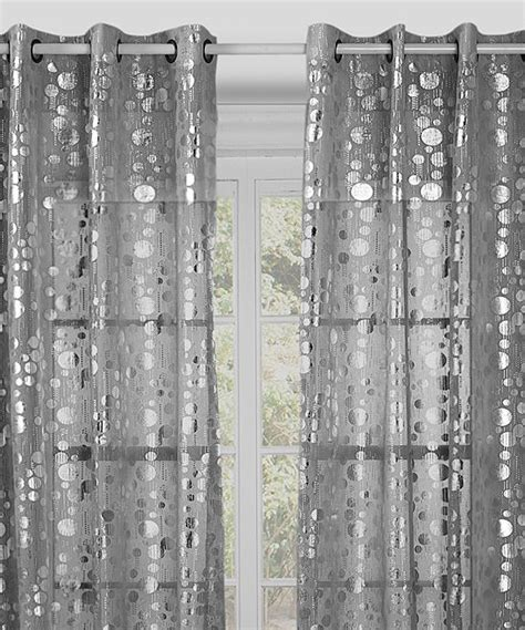 silver spotlight curtain panel set of two 29 99 sweet
