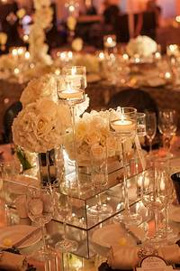 centerpieces with candles 16 Stunning Floating Wedding Centerpiece Ideas