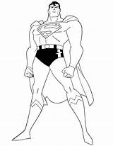 Coloring Superhero Pages Dc Boys sketch template