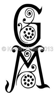 Monogram gm6 | Monogram, Lettering, Finding yourself